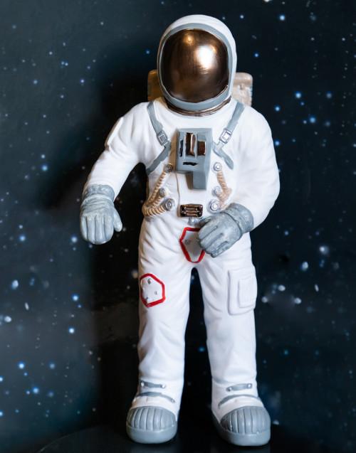 Small White astronaut