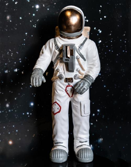 Astronauta bianco grande