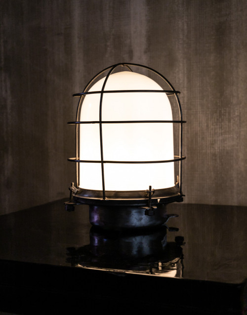 table lamp iron