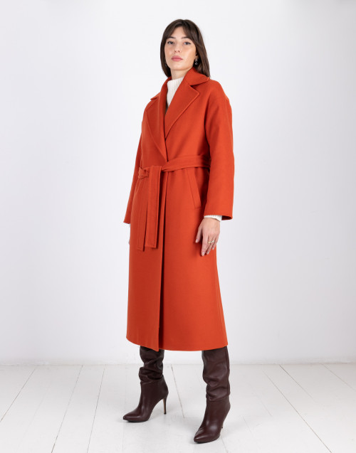 Breras Milano orange coat