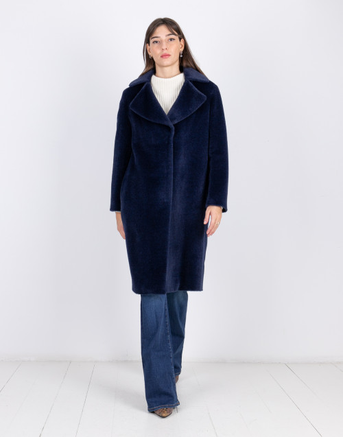 Blue Breras Milano coat