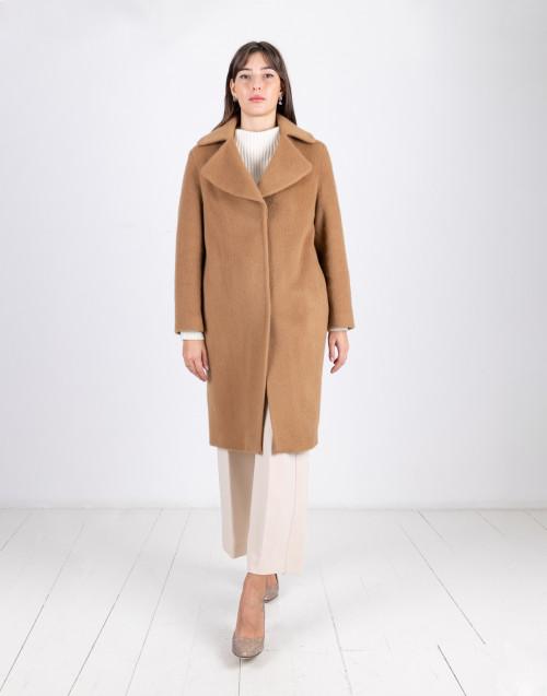 Cappotto Breras Milano cammello