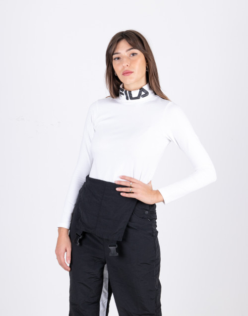 Yvette white turtleneck