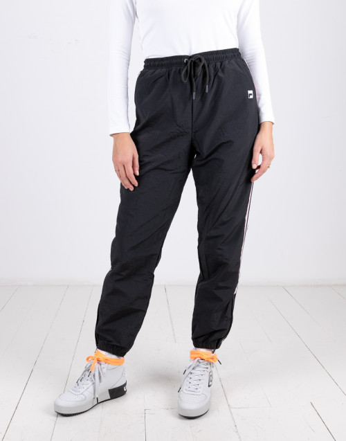 Retro track black trousers