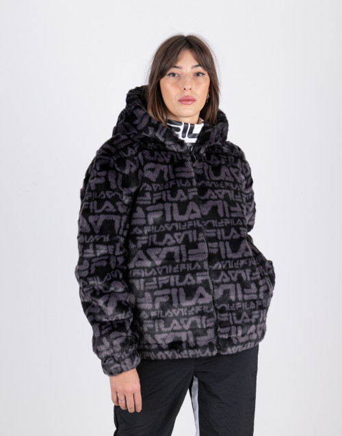 Eco fur all over print