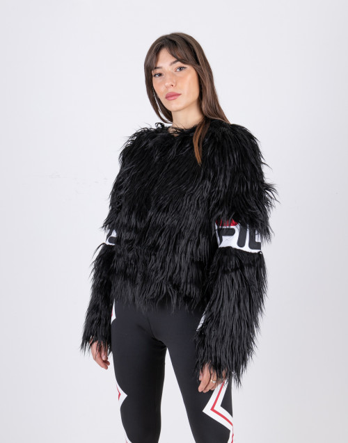 Margot hooded fur jacket