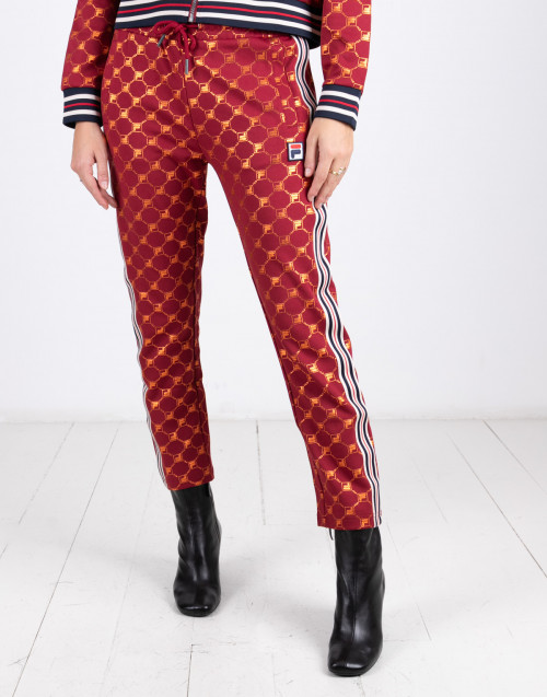 Pantalone con logo all over