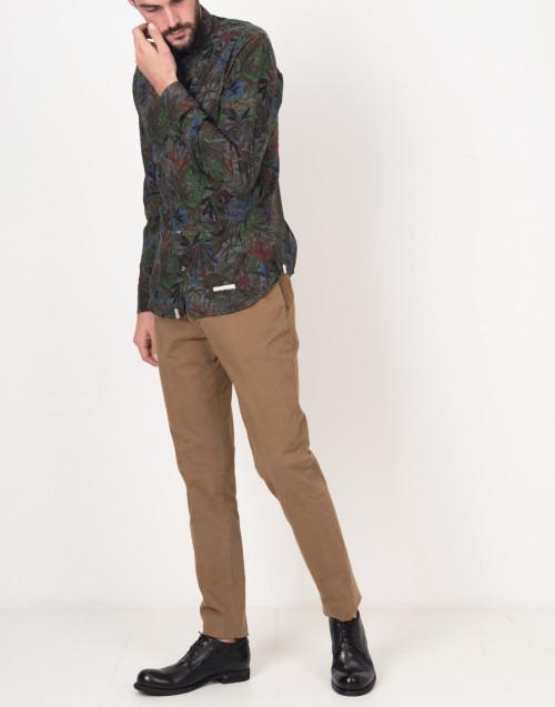 Pantaloni chino cammello