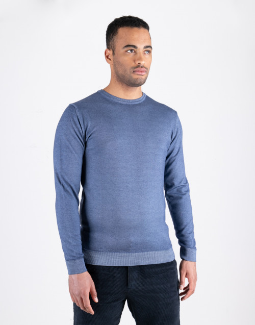 Light Blue Sweater round neck