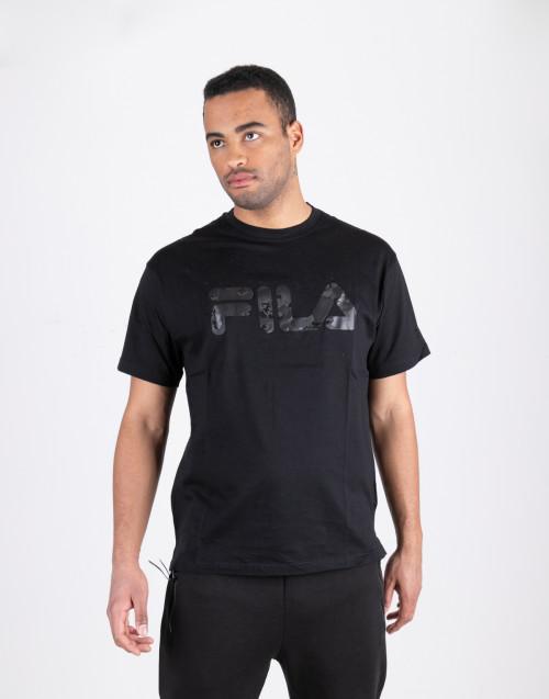T shirt nera fila