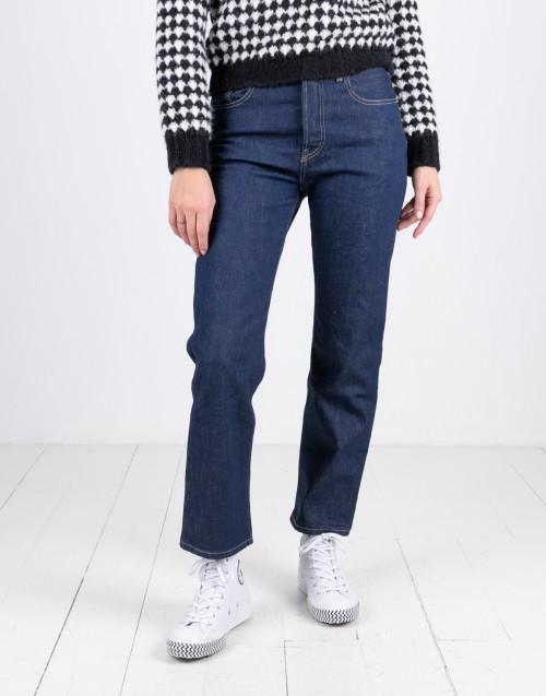501 boyfriend blue jeans