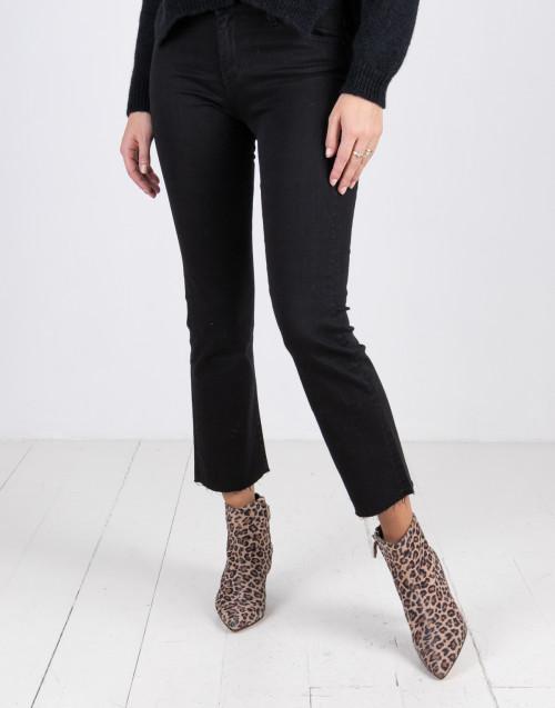 Jeans trombetta nero