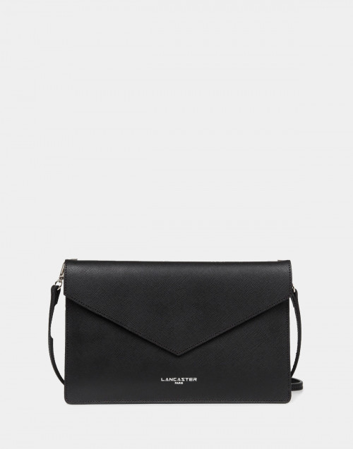Black Saffiano Element clutch bag