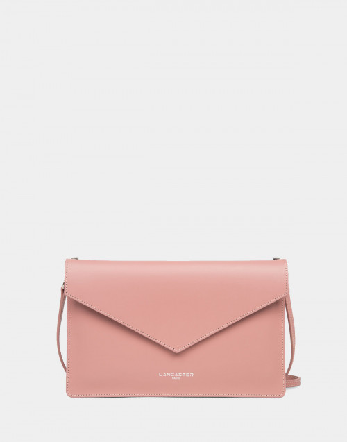 Pink City clutch bag