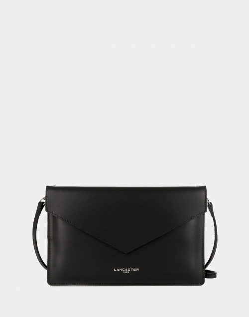 Black Pur & Element Smooth clutch bag