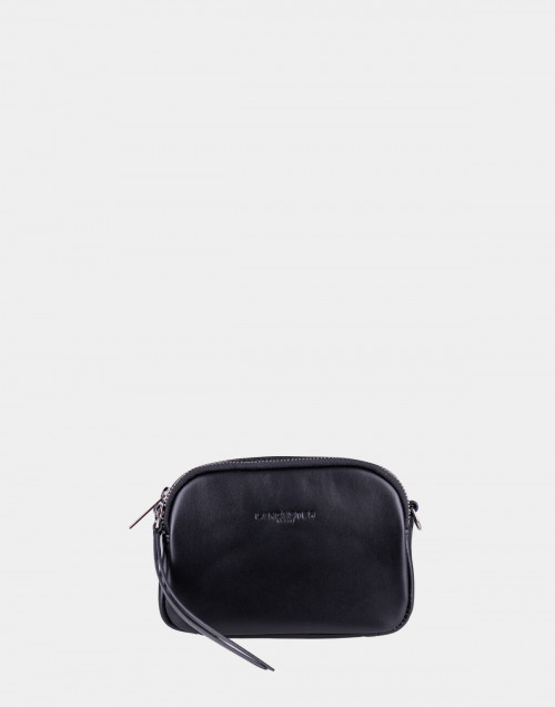 Black leather mini Shoulder bag