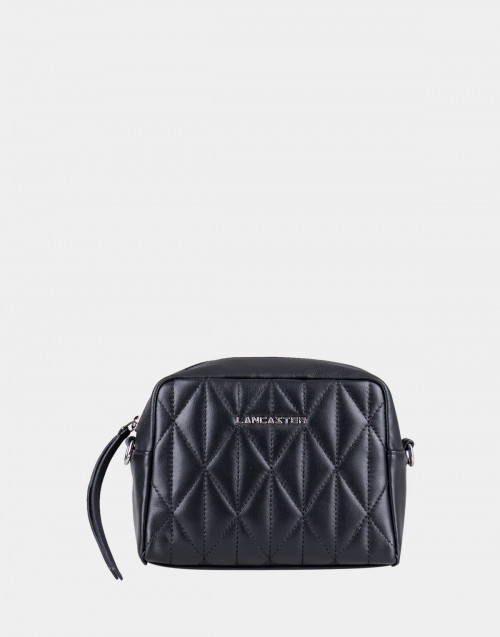 Black matelassè Parisienne bag