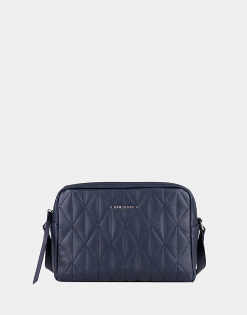 Blue matelassè Parisienne bag