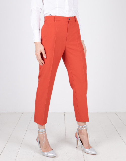 Classic orange trousers