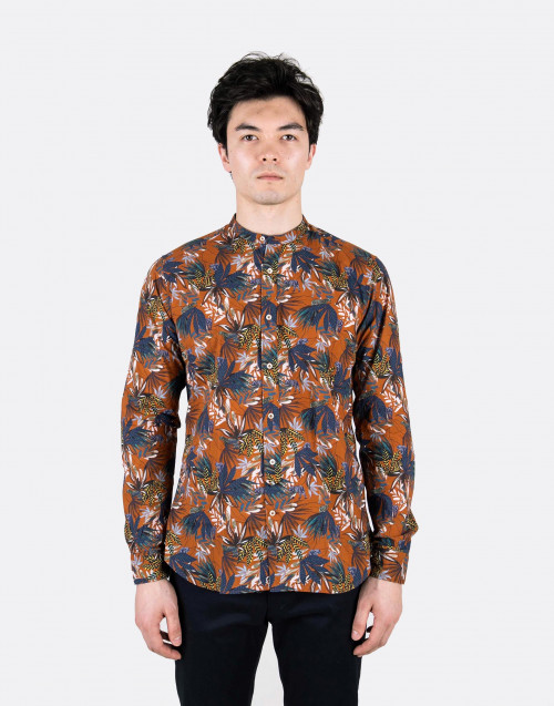 Camicia coreana jungle multicolor
