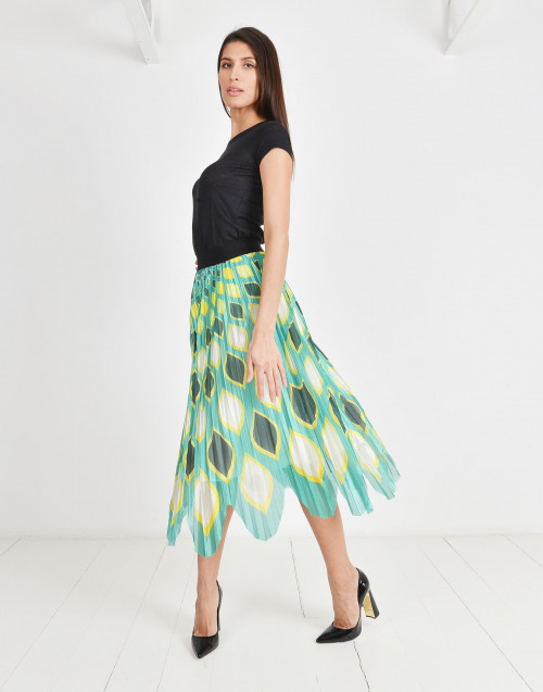 Asia pleated skirt