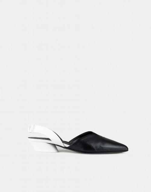 Black / white Baby Kid slipper