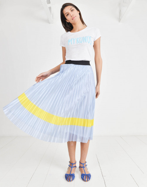 Guendalina pleated skirt