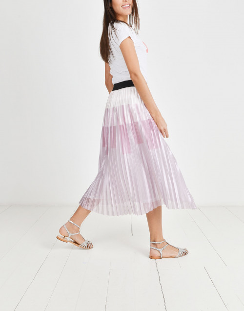 Selvaggia pleated skirt