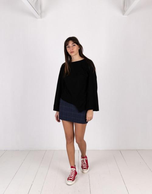 Blue miniskirt