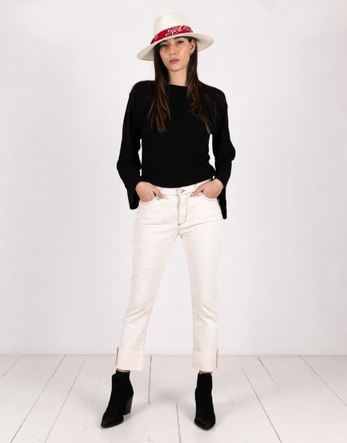 Jeans color panna