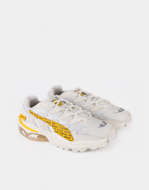 Alien white / yellow celler sneakers