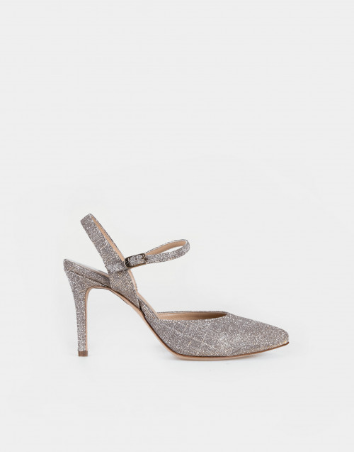 Nude Sirio laminated shoe