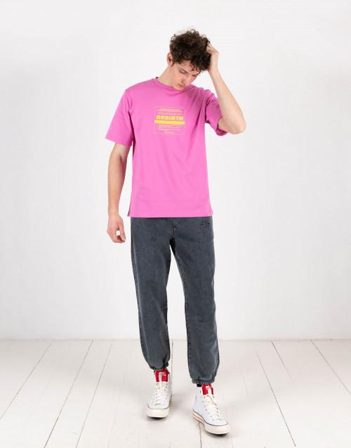 Fuchsia Pink Henfu T-Shirt