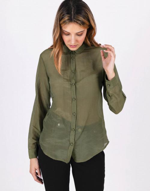 Camicia verde militare