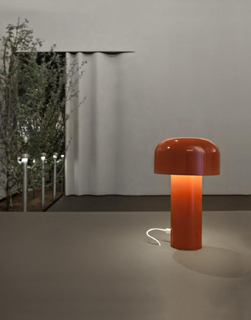 Red Bellhop lamp