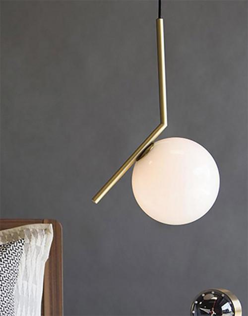 Brass IC Lights Suspension 2 Lamp
