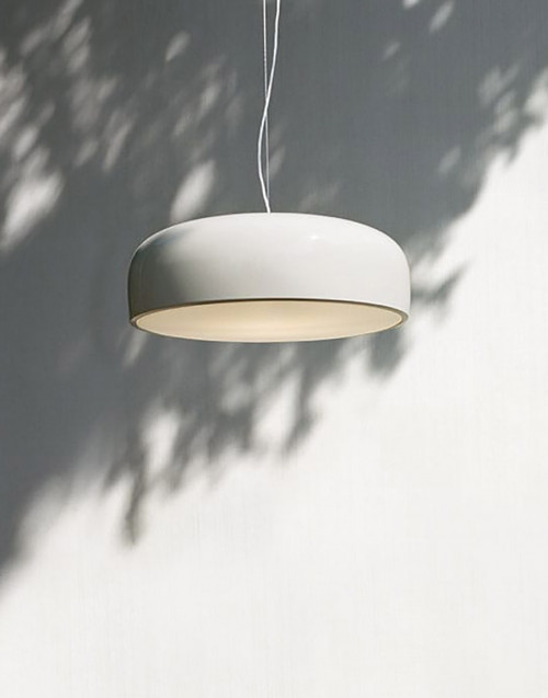 White Smithfield suspension Lamp