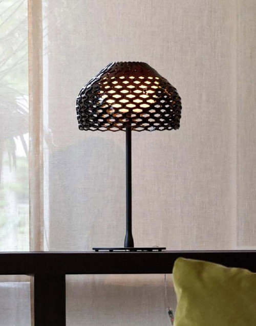 Grey Ocher Tatou table lamp