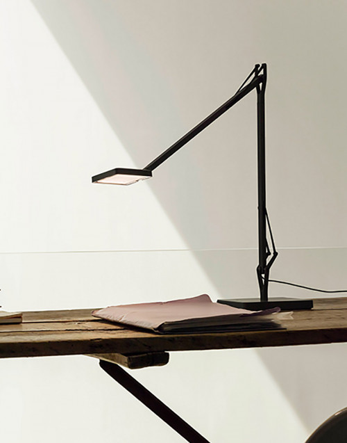Black Kelvin Edge Base Lamp