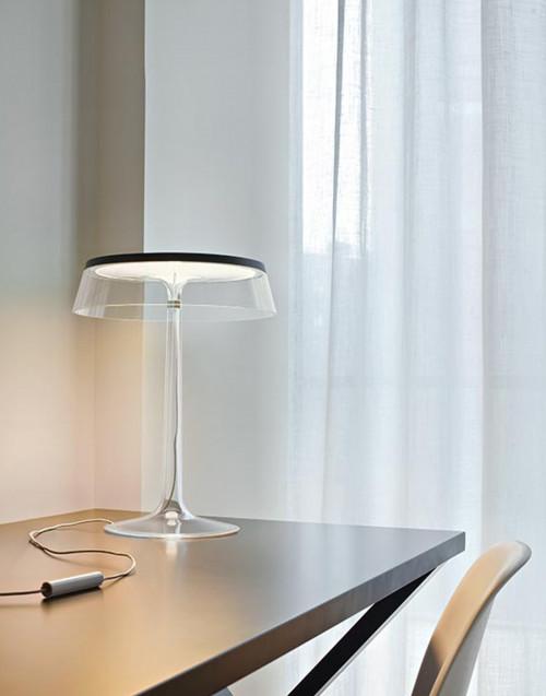 Corona trasparente per lampada Bon Jour
