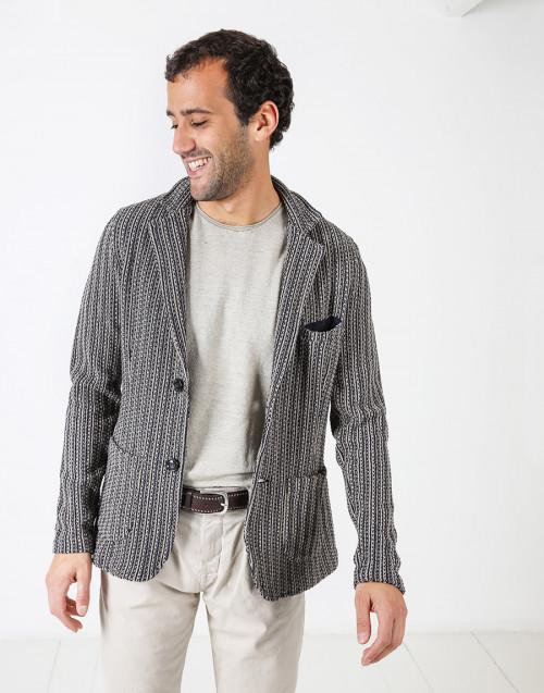 Blazer in maglia
