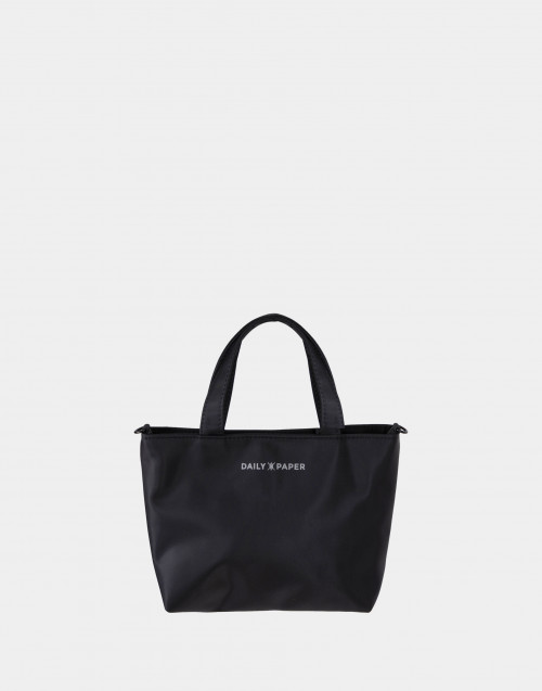 Borsa mini in nylon nera