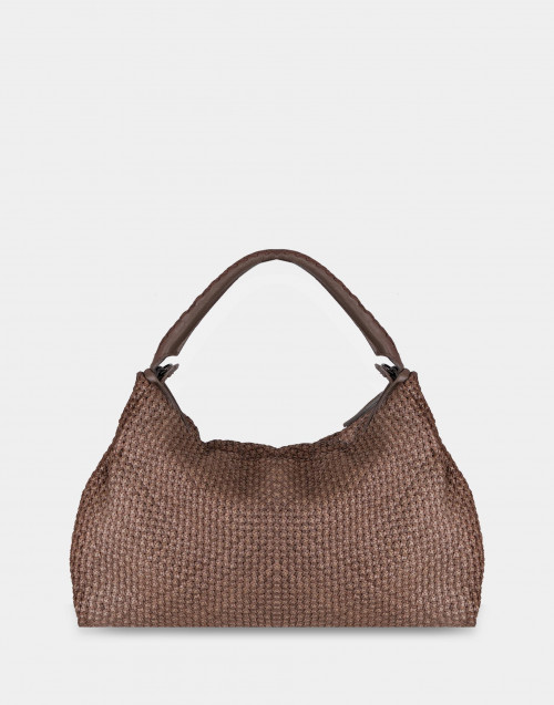 Bandolera rope-colored bag
