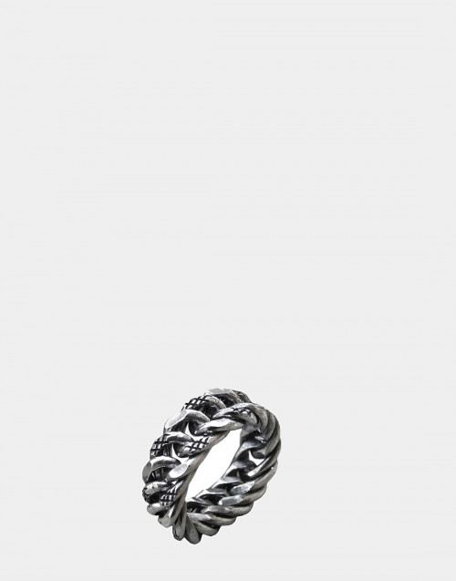 Denim chain ring
