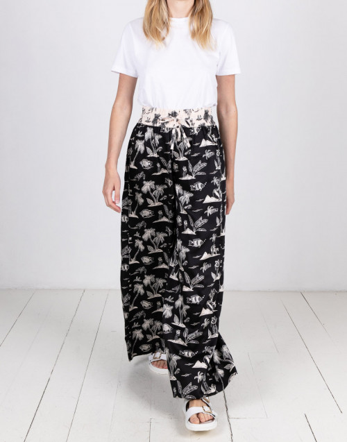 Printed pijama trousers
