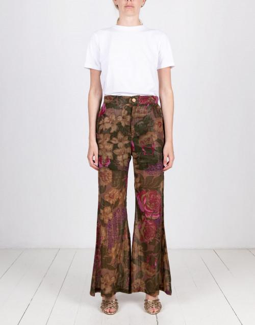 Pantalone stampa fiori