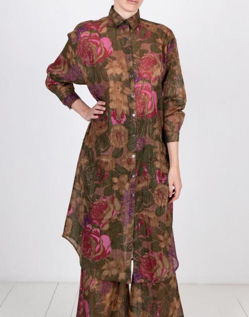 Floral chemisier dress