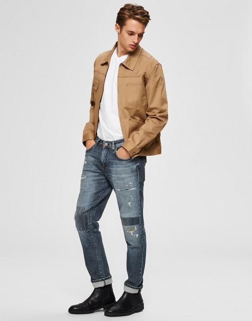 Jeans effetto rovinato