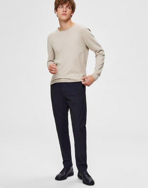 Pantalone slim fit blu