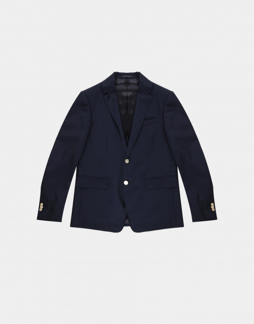 Blazer blu due bottoni